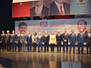 AK PARTİ'NİN ADAYLARI BELLİ OLDU