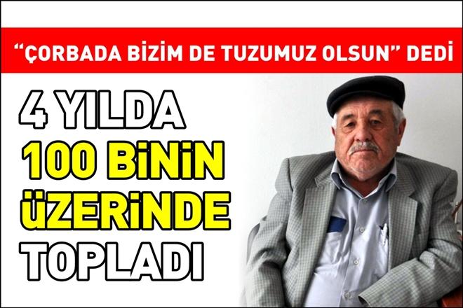 4 YILDA 100 BİNİN ÜZERİNDE TOPLADI