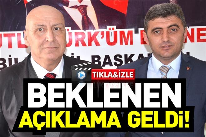 BEKLENEN AÇIKLAMA GELDİ!