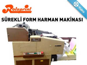 SÜREKLİ FORM HARMAN MAKİNASI