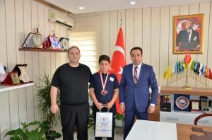 HALTERDE DERECE GELDİ
