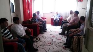 'OSMANELİ HALKI, ŞEHİT AİLESİNİN HER ZAMAN YANINDA'