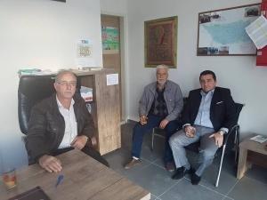 BAŞKAN BAKICI'DAN MUHTARLARA ZİYARET