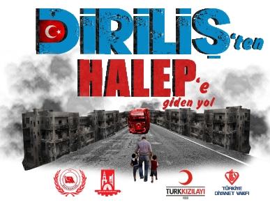DİRİLİŞ'TEN HALEP'E YARDIM ELİ