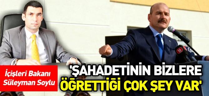 'ŞAHADETİNİN BİZLERE ÖĞRETTİĞİ ÇOK ŞEY VAR'