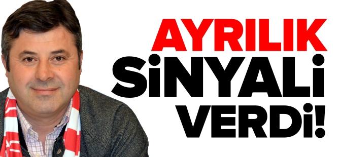 CİNOĞLU'NDAN AYRILIK SİNYALİ!