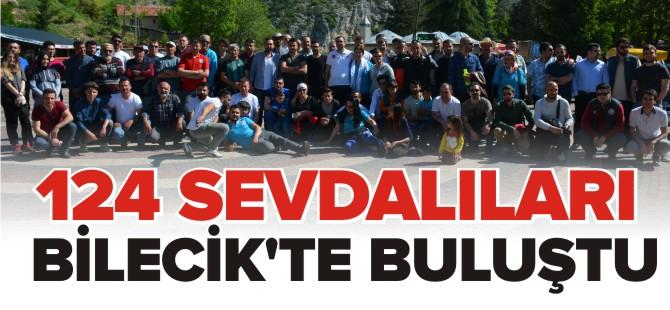MURAT 124 SEVDALILARI BİLECİK'TE BULUŞTU