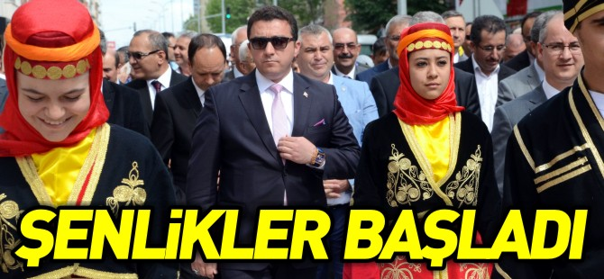 ŞENLİKLER BAŞLADI