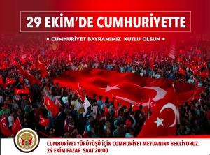29 EKİM'DE CUMHURİYET'TE