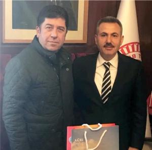 VALİ ELBAN'DAN TÜZÜN'E ZİYARET