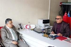 BAŞKAN YAĞCI'DAN OSMANELİ HABER'E ZİYARET