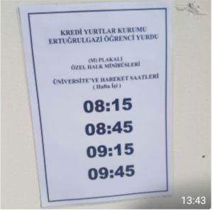 DOLMUŞ SEFERLERİ BAŞLADI