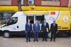 PTT'NİN ARAÇ FİLOSUNA YENİLERİ EKLENDİ