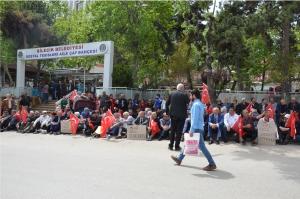 CHP'DEN OTURMA EYLEMİ