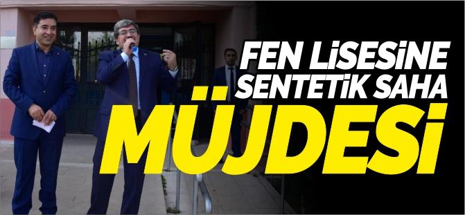 FEN LİSESİNE SENTETİK SAHA MÜJDESİ