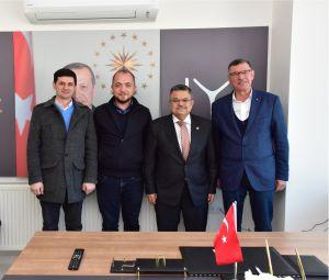 MV. YAĞCI, ADAY ADAYLARI İLE BİR ARAYA GELDİ