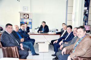 CHP'DEN GAZETEMİZE ZİYARET