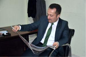 VALİ BİLAL ŞENTÜRK'TEN GAZETEMİZE ZİYARET