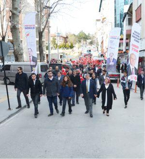 CUMHUR'A CUMHURİYET VE İSTİKLAL'DEN TAM DESTEK