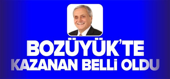 BOZÜYÜK'TE KAZANAN BELLİ OLDU