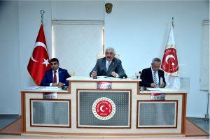 İL GENEL MECLİSİ 3'ÜNCÜ BİRLEŞİMİ YAPILDI
