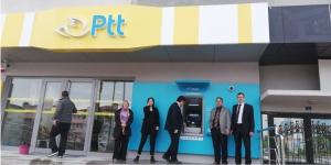 PTTMATİK ATM'LERİ HİZMETE GİRDİ