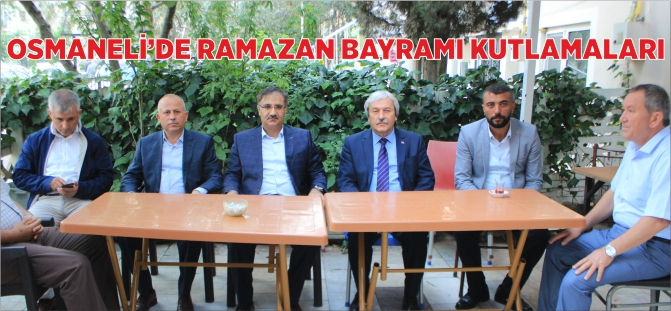 OSMANELİ'DE RAMAZAN BAYRAMI KUTLAMALARI