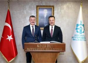 KOCAELİ'DE HALEF SELEF BULUŞMASI