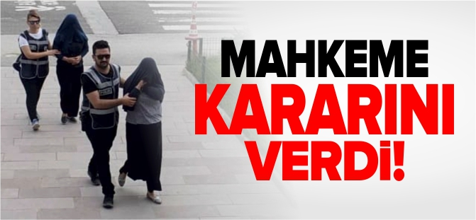 MAHKEME KARARINI VERDİ!