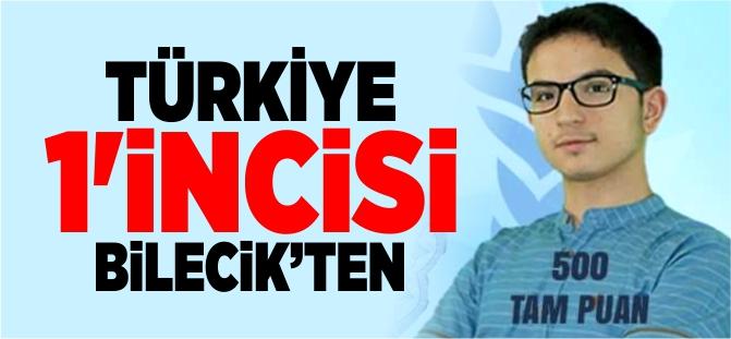TÜRKİYE 1'İNCİSİ BİLECİK'TEN
