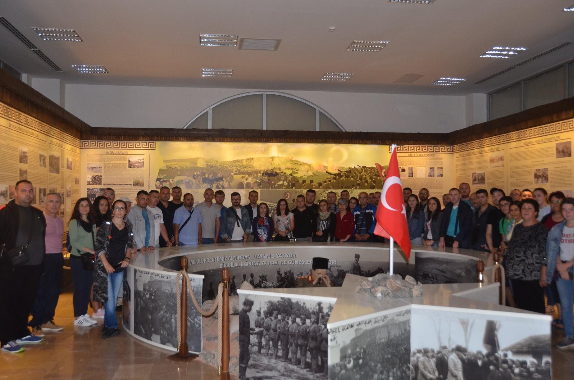 BULGARİSTAN'DAN BİLECİK'E TARİH GEZİSİ