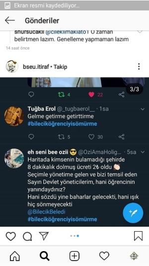 ÖĞRENCİLERDEN DOLMUŞ ZAMMINA TEPKİ!