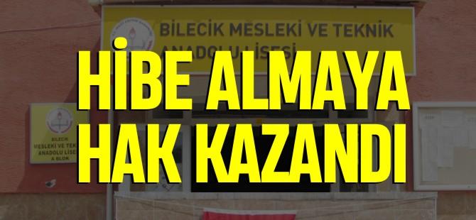 HİBE ALMAYA HAK KAZANDI