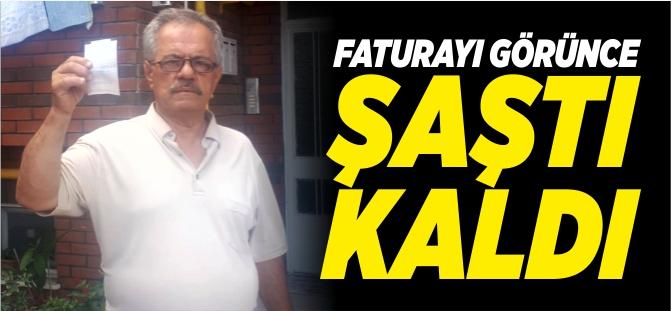 FATURAYI GÖRÜNCE ŞAŞTI KALDI!