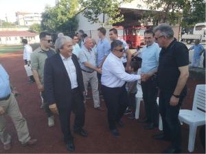 MV. YAĞCI'DAN MÜNÜR ŞAHİN'E TEBRİK