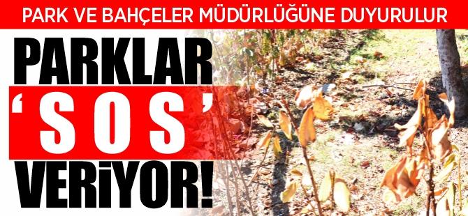 PARKLAR SOS VERİYOR !