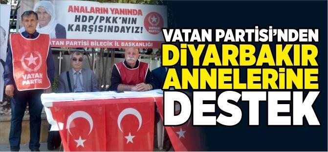 VATAN PARTİSİ'NDEN DİYARBAKIR ANNELERİNE DESTEK