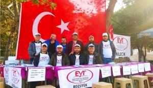 EYT'LİLER OSMANELİ'NDE STANT AÇTI
