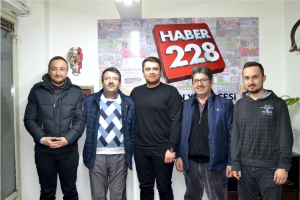 GAZETEMİZDEN HABER 228'E ZİYARET