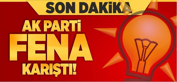 AK PARTİ FENA KARIŞTI!