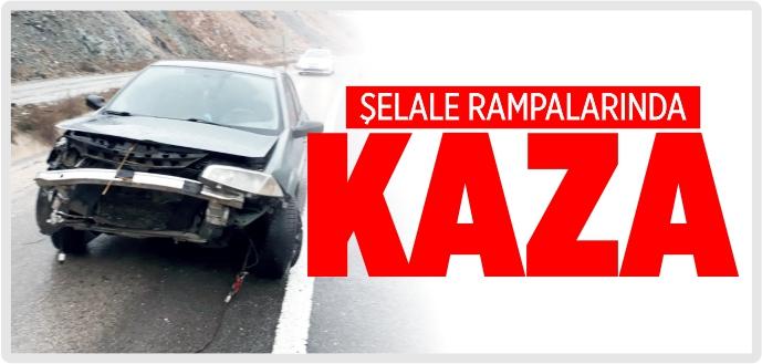 ŞELALE RAMPALARINDA KAZA