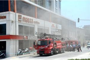 Kayı Plaza yangınında son durum