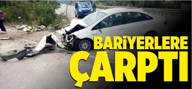 Osmaneli'nde trafik kazası 1 yaralı