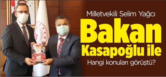 """Milletvekili Selim Yağcı, """"Yeni müjdeler gelecek"""""""