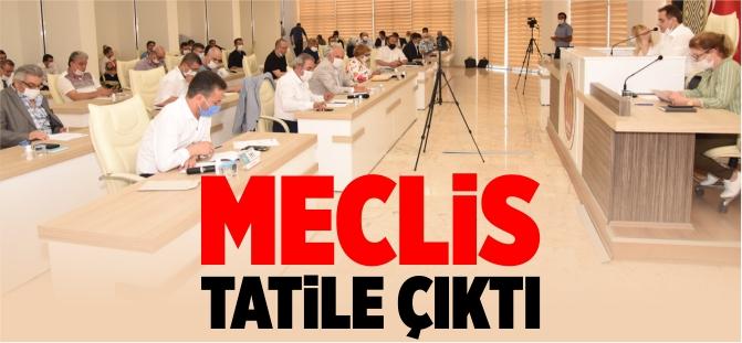 Bilecik Belediye Meclisi tatile çıktı