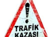 BOZÜYÜK'TE TRAFİK KAZASI 1 YARALI