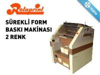 SÜREKLİ FORM BASKI MAKİNASI 2 RENK