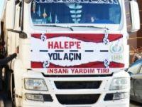 HALEP'E 7 TIR YARDIM GÖNDERİLECEK