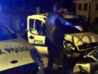 POLİSİN 'DUR' İHTARINA UYMADI
