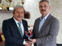 ŞAHİN'DEN HALTER FEDERASYONU'NA ZİYARET
